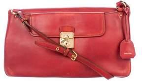 Miu Miu Smooth Leather Satchel