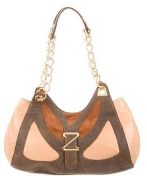 Zac Posen Tricolor Leather Bag