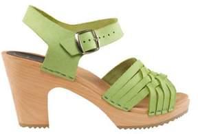Cape Clogs Women's Herringbone Lime Sandal.
