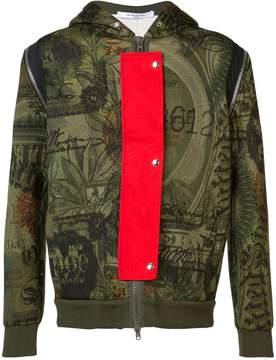 Givenchy dollar print hoodie