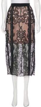 Alice McCall Lace Midi Skirt