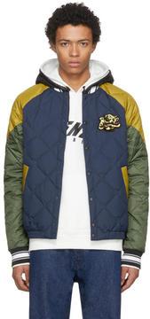 Kenzo Navy Down Tour Bomber Jacket