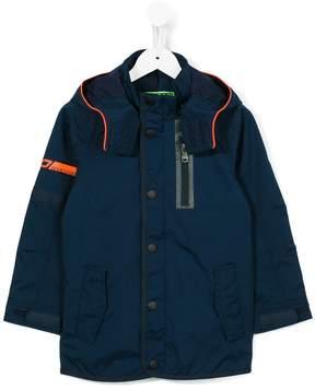 Vingino panelled hooded jacket
