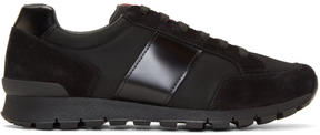 Prada Black Hybrid Sneakers