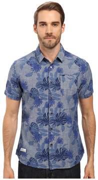 7 Diamonds Guilded Short Sleeve Shirt Men's Short Sleeve Button Up