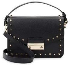 Furla Julia Studded Leather Shoulder Bag
