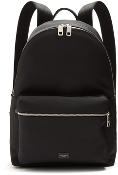 Dolce & Gabbana Logo-plaque zip-around backpack