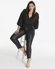 AX Paris Curve Kimono Wrap Top
