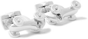 Deakin & Francis Car Rhodium-Plated Cufflinks