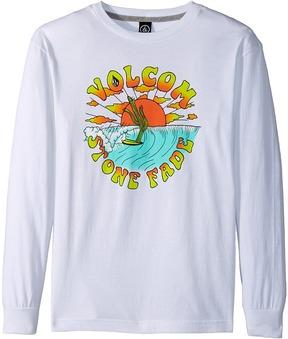Volcom Fade Long Sleeve Tee Boy's Long Sleeve Pullover