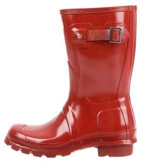 Hunter Round-Toe Rain Boots w/ Tags