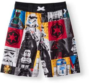 Star Wars Lego  Boys' Lego Characters Swimshorts