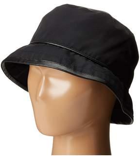 Scala Rain Bucket Hat with Piping Trim Bucket Caps