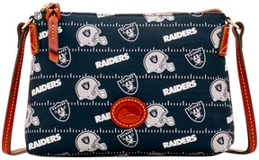 Dooney & Bourke Oakland Raiders Nylon Crossbody Pouchette - BLACK - STYLE