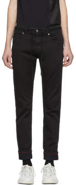 Diesel Black Thommer CB-NE Jogg Jeans
