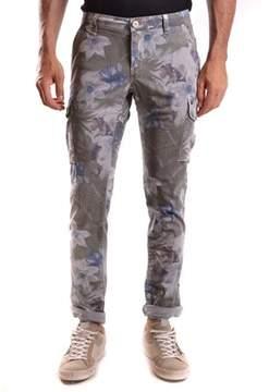 Mason Men's Grey Cotton Pants.