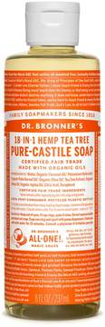 Dr. Bronner's Tea Tree Castile Liquid Soap by 8oz Liquid Soap)