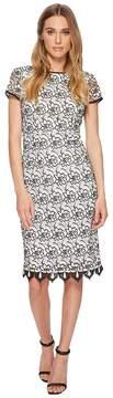 Adrianna Papell Sleeveless Lace Sheath Dress Women's Dress