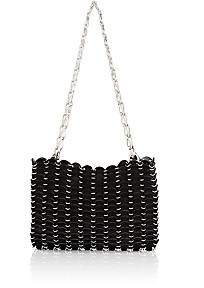 Paco Rabanne Women's Iconic Chain Bag-Black
