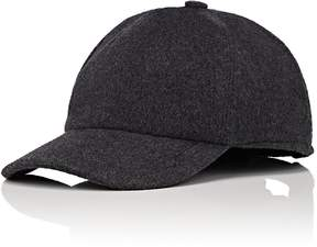 Barneys New York MEN'S MILENA WOOL-BLEND MELTON BASEBALL CAP