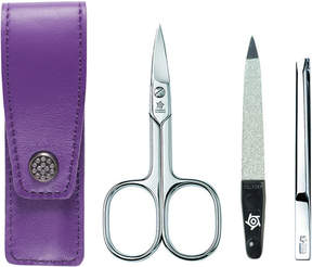 Pfeilring Pocket Manicure Set - Purple by 3pc Manicure Set)