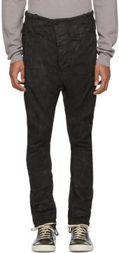 11 By Boris Bidjan Saberi Black Denim Trousers