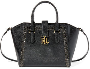 Ralph Lauren Lauren Patent Leather Bethany Shopper