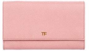 Tom Ford Leather Flap Clutch