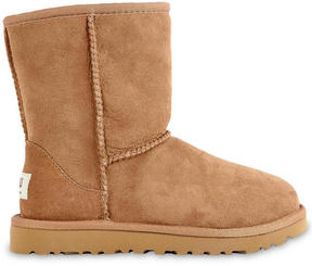UGG Classic fur-lined leather boots