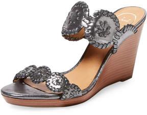 Jack Rogers Women's Luccia Stardust Wedge Sandal