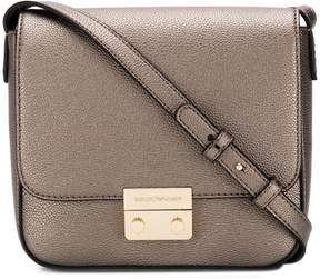 Emporio Armani push lock cross-body bag