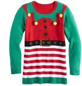 ugly christmas sweaters for kids popsugar moms. Black Bedroom Furniture Sets. Home Design Ideas