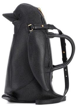 Thom Browne Penguin leather shoulder bag
