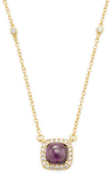 Rivka Friedman Women's 18K Gold Necklace with Crystal & CZ