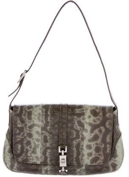 Gucci Lizard Jackie Bag - GREEN - STYLE