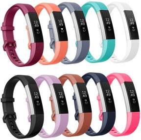 Fitbit Moretek Strap Bands For Alta HR and Alta , Silicone Replacement Watch Band Pack of 10