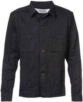 Individual Sentiments pocket detail shirt jacket