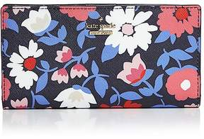Kate Spade Cameron Street Daisy Stacy Bi-Fold Wallet - BLUE MULTI/GOLD - STYLE