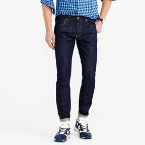 J.Crew 484 Slim-fit jean in raw selvedge denim