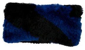 Adrienne Landau Rabbit Fur Headband w/ Tags