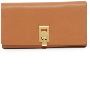 Michael Kors Miranda Continental Wallet - LUGGAGE - STYLE