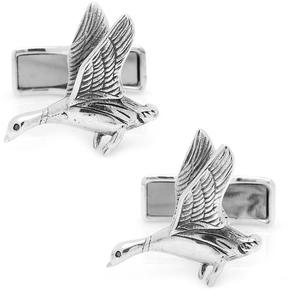 Ravi Ratan Sterling Duck Hunting Cufflinks