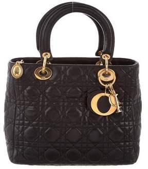Christian Dior Medium Lady Satchel