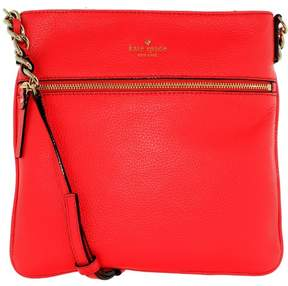 Kate Spade Women's Cobble Hill Ellen Crossbody Leather Cross Body Bag Satchel - Crab Red - CRAB RED - STYLE