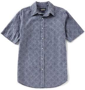 Daniel Cremieux Jeans Paisley Snap-Front Short-Sleeve Woven Shirt