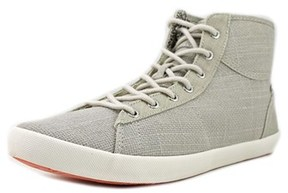 Roxy Ollie Women Canvas Gray Fashion Sneakers.