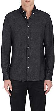 Officine Generale Men's Antime Brushed Cotton Oxford Button-Front Shirt