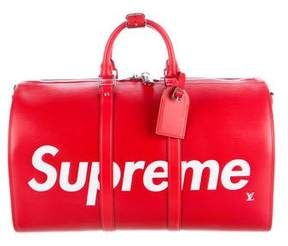 Louis Vuitton x Supreme Epi Keepall Bandoulière 45