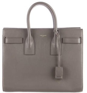 Saint Laurent Small Sac de Jour - GREY - STYLE