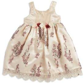 Iris & Ivy Little Girl's Embroidered Floral Dress